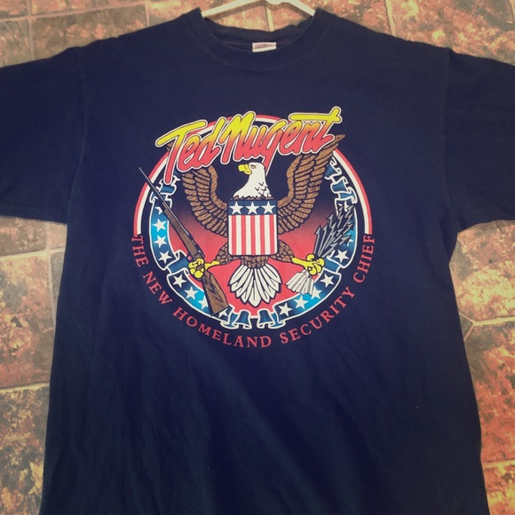 Other - 2005 TED NUGENT TOUR SHIRT